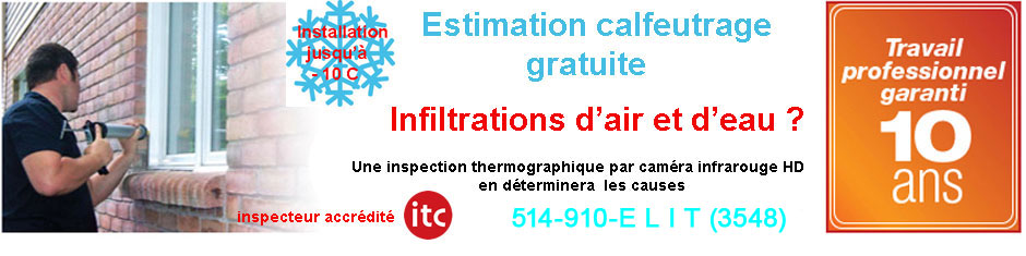 Calfeutrage Laval